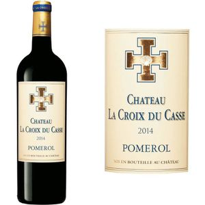 VIN ROUGE Château La Croix Du Casse Pomerol 2014 - Vin Rouge