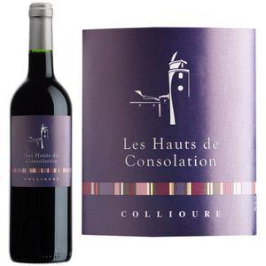 VIN ROUGE Les Hauts de Consolation AOP Collioure 2014 - Vin
