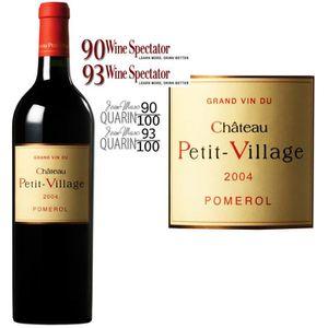 VIN ROUGE Château Petit-Village Pomerol Grand Vin de Bordeau