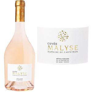 VIN ROSÉ Domaine Carteyron Cuvée Malyse Côtes de Provence 2