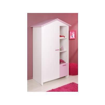 Elegance gabriel armoire 1 porte achat vente armoire - Armoire industrielle pas cher ...