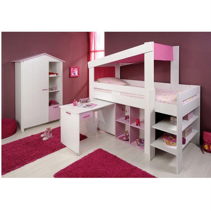 Elegance armoire 1 porte combin achat vente - Lit combine armoire ...