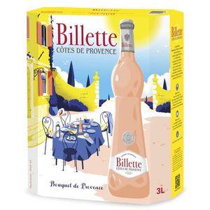 VIN ROSÉ BIB Billette Tradition Rosé AOC Côtes de Provence