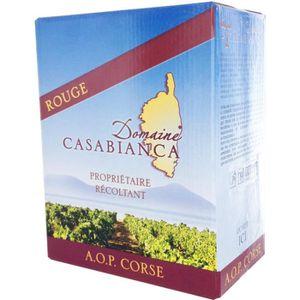 VIN ROUGE BIB 3 L Domaine Casabianca Corse Rouge 2014
