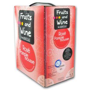Apéritif à base de vin Fruits and Wine MoncigaleVin Pamplemousse BIB® 3L