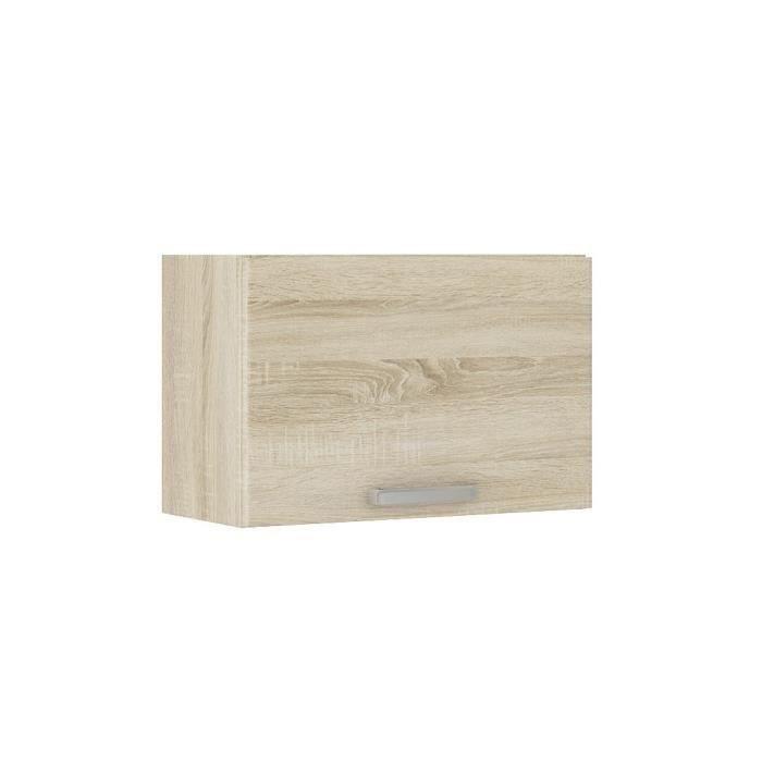 lassen meuble hotte 60 cm d cor ch ne clair sonoma achat vente l ments haut lassen meuble. Black Bedroom Furniture Sets. Home Design Ideas