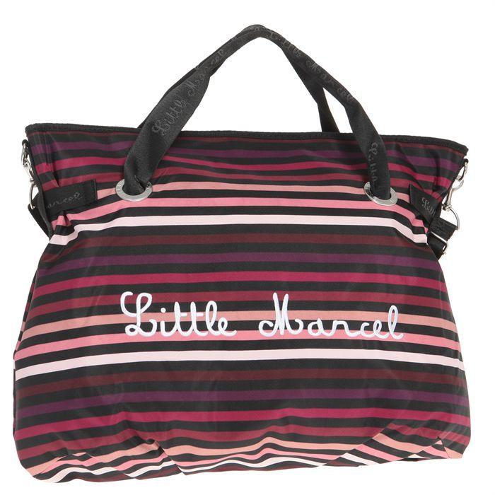 little marcel sac shopping femme rose achat vente sac. Black Bedroom Furniture Sets. Home Design Ideas