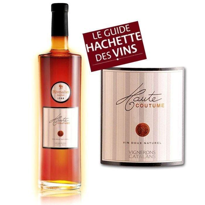 Haute coutume rivesaltes ambr 1988 achat vente for Aperitif maison a base de vin