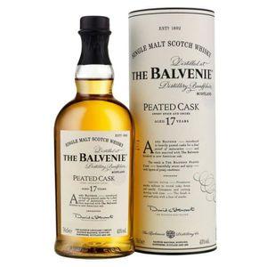 WHISKY BOURBON SCOTCH Balvenie 17 ans Peated 48.7° 70cl