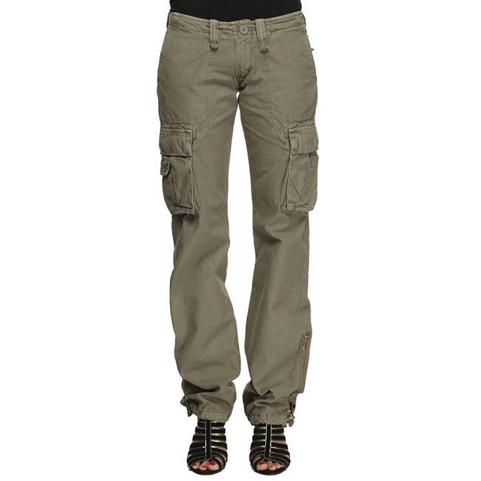 Le temps des cerises pantalon femme vert achat vente pantalon le temps des cerises pantalon - Pantalon treillis femme le temps des cerises ...