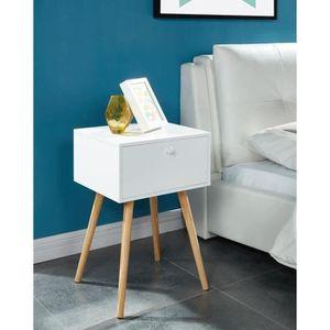 table de chevet achat vente table de chevet pas cher les soldes sur cdiscount cdiscount. Black Bedroom Furniture Sets. Home Design Ideas