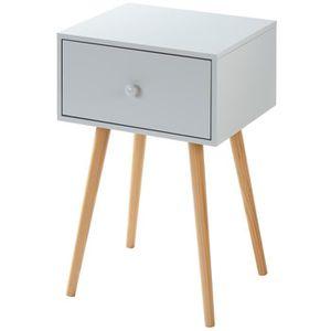 Table de chevet achat vente table de chevet pas cher cdiscount - Fabriquer table chevet ...