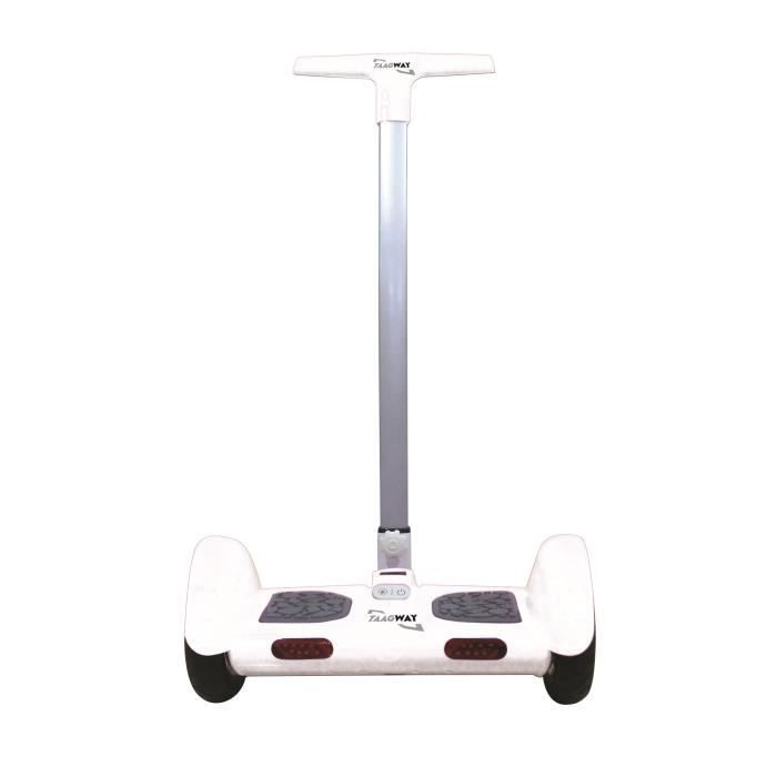 taagway segway gyro skate lectrique tout terrain roues 10 23 blanc achat vente gyropode. Black Bedroom Furniture Sets. Home Design Ideas