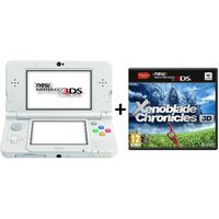 New 3DS Blanche + Xenoblade Chronicles 3D
