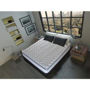 ensemble m moire de forme 180 x 200 cm achat vente ensemble m moire de forme 180 x 200. Black Bedroom Furniture Sets. Home Design Ideas