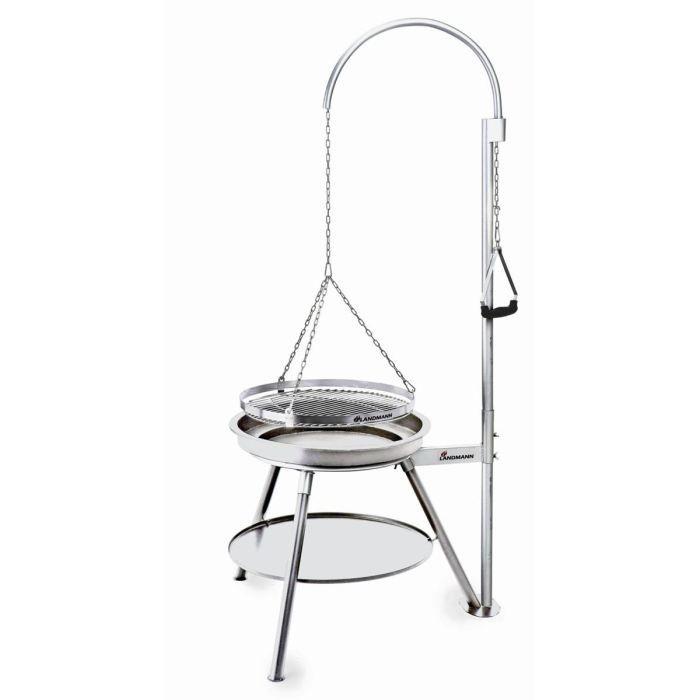 geos barbecue suspendu inox diam tre 53 cm achat vente barbecue geos barbecue suspendu inox. Black Bedroom Furniture Sets. Home Design Ideas