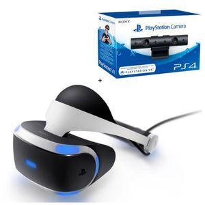 CASQUE RÉALITÉ VIRTUELLE PlayStation VR + PlayStation Caméra