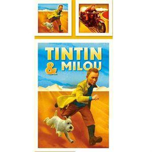 PARURE DE DRAP Parure de couette enfant 200x140 Tintin Desert