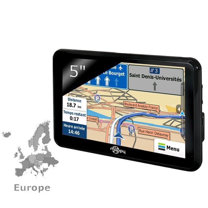 mappy ulti 490 europe achat vente gps auto mappy ulti 490 europe soldes cdiscount. Black Bedroom Furniture Sets. Home Design Ideas