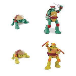 Figurine tortue ninja michelangelo achat vente jeux et - Tortue ninja raphael ...