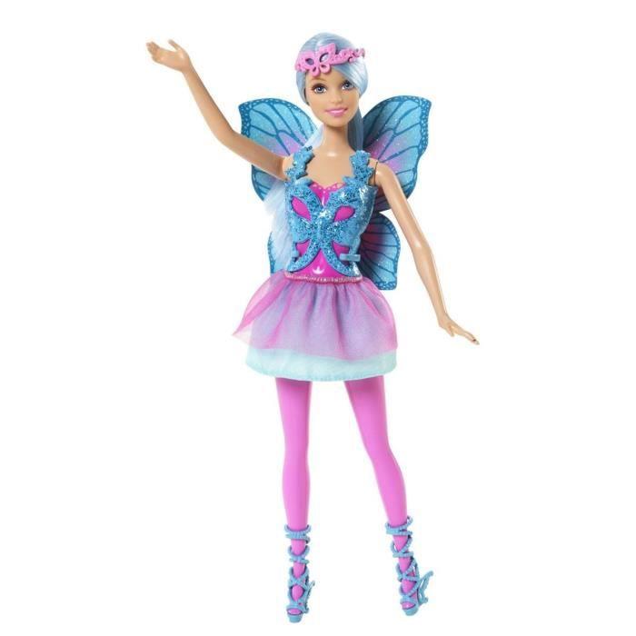 poupe barbie fe bleue
