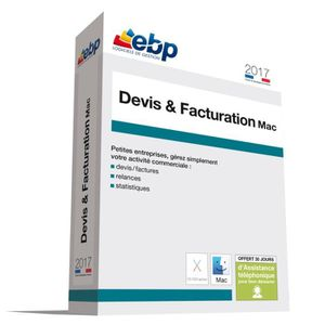 LOGICIEL BUREAUTIQUE  EBP Devis et Facturation MAC 2017