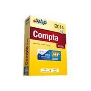 LOGICIEL BUREAUTIQUE  EBP Compta Pratic 2014 + Services VIP