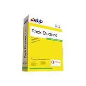 PACK LOGICIEL EBP Pack Etudiant 2015 - Microsoft Office Pro 2013