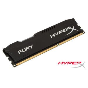MÉMOIRE RAM HyperX FURY Black 4Go DDR3 1600MHz CL10 DIMM