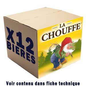 BIÈRE Box de 12 bières Chouffe 33cl