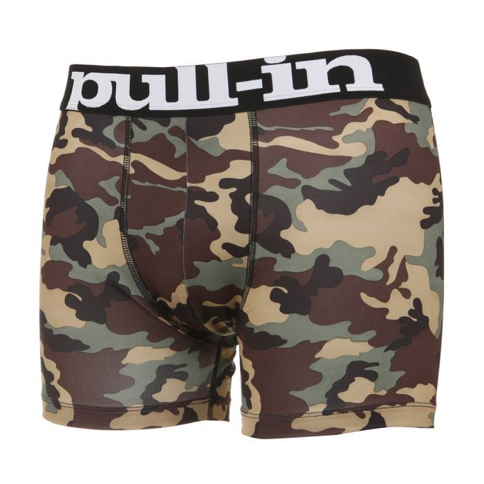 pull in boxer camouflage homme marron beige achat. Black Bedroom Furniture Sets. Home Design Ideas