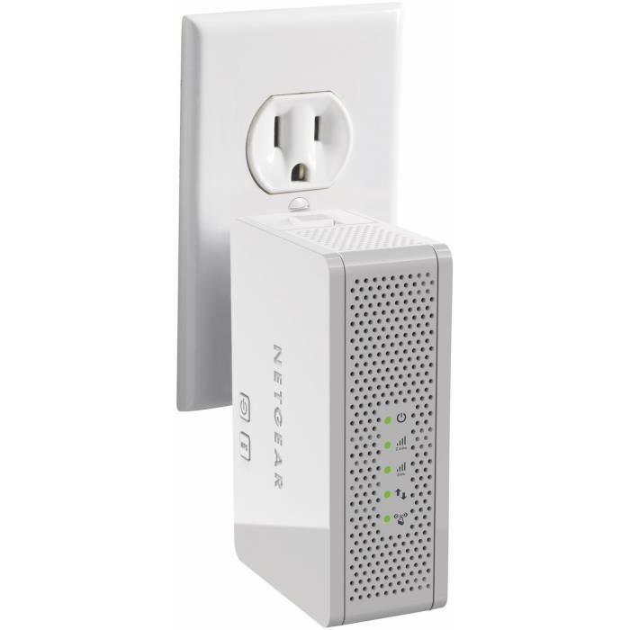 Netgear r p teur wifi dual band wn3500rp prix pas cher cdiscount - Repeteur wifi cpl ...