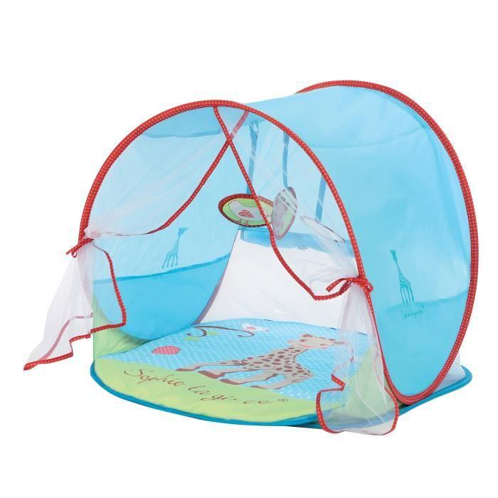 ludi tente d 39 activit sophie la girafe bleu achat vente tente tunnel d 39 activit. Black Bedroom Furniture Sets. Home Design Ideas