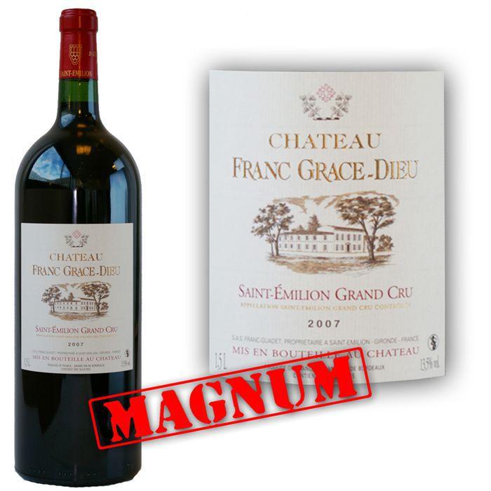 magnum ch teau franc gr ce dieu 2007 vin rouge achat vente vin rouge franc gr ce dieu 2007. Black Bedroom Furniture Sets. Home Design Ideas