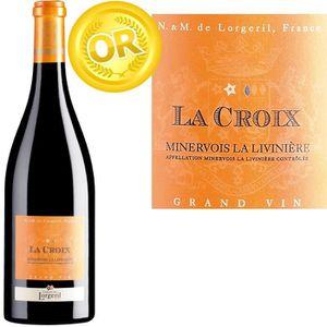 VIN ROUGE La Croix Grand Vin Minervois la liviniere 2011