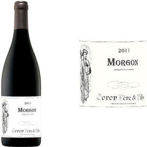 VIN ROUGE Morgon Coron Père & Fils rouge 2011