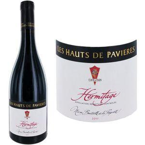 VIN ROUGE Les Hauts de Pavières Hermitage 2011 - Vin rouge