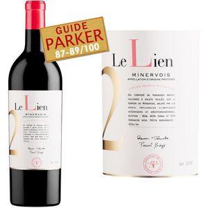 VIN ROUGE Le Lien rouge AOP Minervois 2011 - Vin rouge