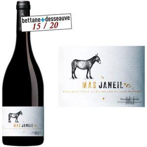 VIN ROUGE Mas Janeil Côtes de Roussillon Villages 2012 - Vin