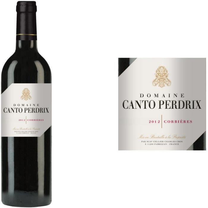 domaine canto perdrix 2012 corbi res vin rouge achat vente vin rouge domaine canto perdrix. Black Bedroom Furniture Sets. Home Design Ideas
