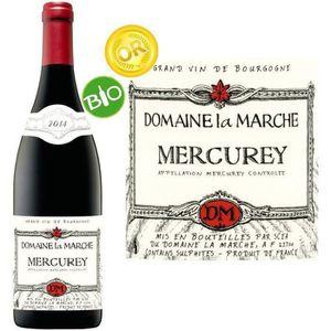 VIN ROUGE Louis Max Domaine La Marche Mercurey Bio 2014 - Vi