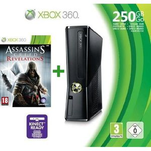 CONSOLE XBOX 360 XBOX 360 250 Go + MANETTE + ASSASSIN'S CREED