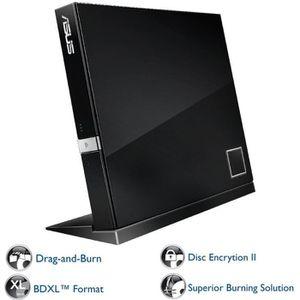 Lecteur - graveur externe CD-DVD ASUS SBW06D2XU NOIR