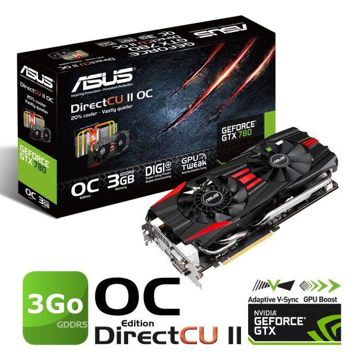 Asus Gtx780 3go Gddr5 Directcu Ii Oc Achat Vente Carte