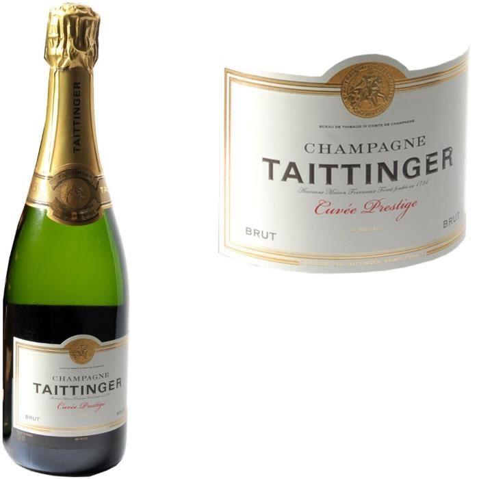 Taittinger champagne brut - Champagne taittinger cuvee prestige ...