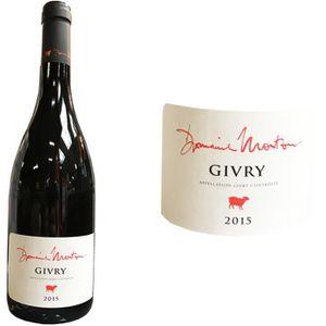 VIN ROUGE Givry Domaine Mouton Grand Vin de Bourgogne Côte C