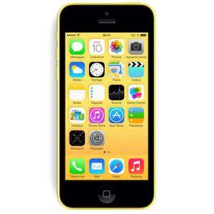 Smartphone APPLE IPHONE 5C JAUNE 16GO