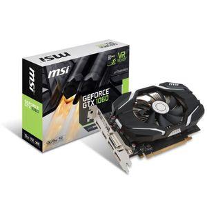 CARTE GRAPHIQUE INTERNE MSI Carte graphique GeForce® GTX 1060 6G OC - 6Go