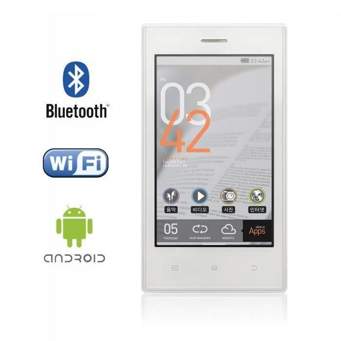 cowon z2 32go blanc lecteur multim dia android lecteur. Black Bedroom Furniture Sets. Home Design Ideas