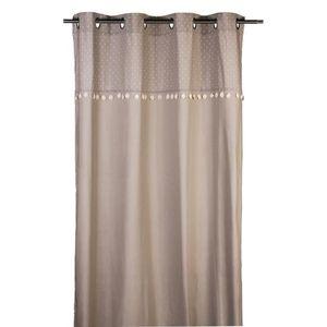 rideau violet et gris achat vente rideau violet et. Black Bedroom Furniture Sets. Home Design Ideas
